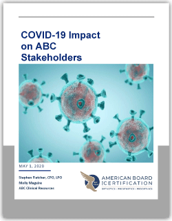 COVID Survey Report Cover Page