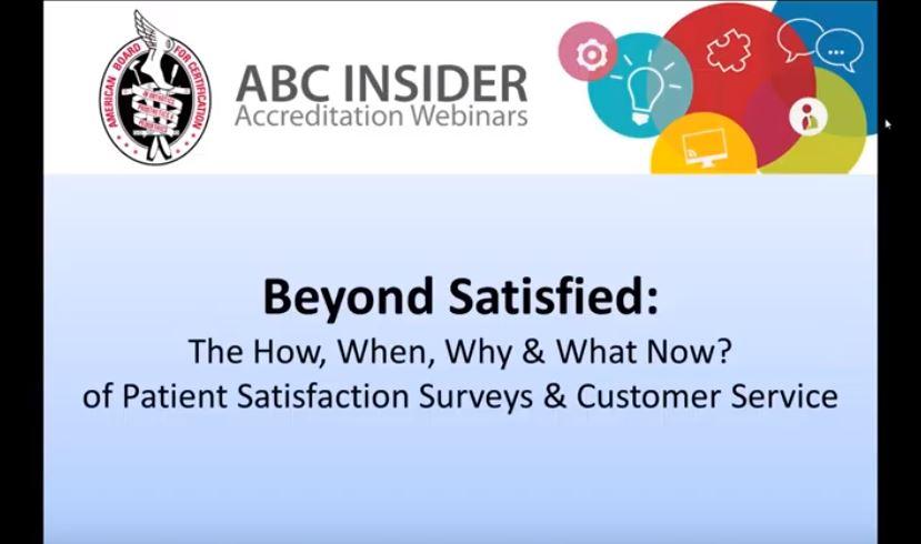 Beyond Satisfied Webinar Icon