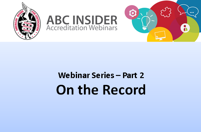 OntheRecord Webinar Icon